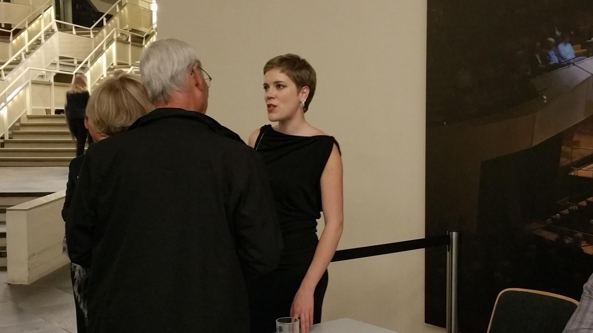 Agnès Clément plays Ginastera