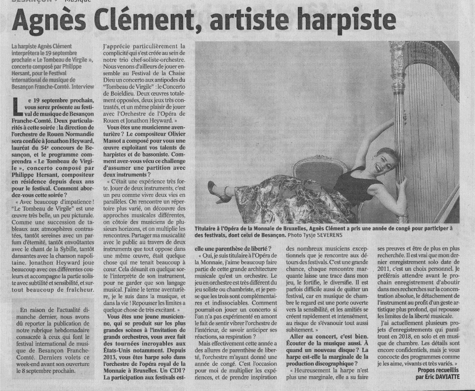 Est republicain Agnès Clément